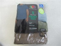Fruit of the Loom Men's Large 5-Pack Assorted