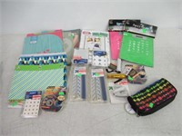 Lot of Various School Supplies