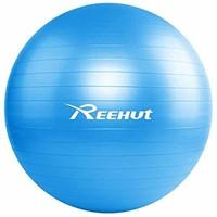Reehut Anti-Burst Core Exercise Ball w/Pump &