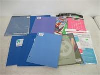 Lot of Various School Supplies