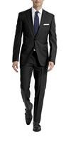 Calvin Klein Men's 50 Regular Wool Strecth Suit