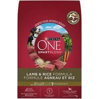 Purina ONE Smartblend Natural Dry Dog Food; Lamb &