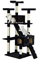 Go Pet Club F2083 72-Inch Cat Tree Condo
