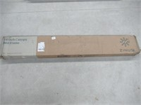 Zinus Metal Framed Canopy Four Poster Platform Bed