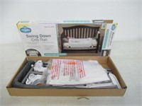 Regalo Swing Down Extra Long Convertible Crib
