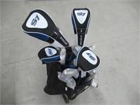 18 Piece Men's Complete Golf Club Package Set MRH