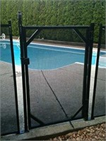 WaterWarden 4 ft. x 30 inch Safety Fence Gate for