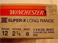 """Winchester 12 ga. 2 3/4"""" Super X Long Range 6-shot"""