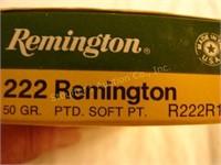 Remington 222REM 50-grain PTD softpoint (20 rnd)
