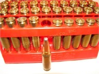 55 rounds Federal 300 Savage 150-grain & 5 casings