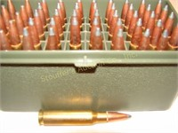 50 rounds of 308 reloads in plastic Plano