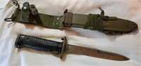 Bayonet from M1 carbine - U.S. M5A1 on blade -