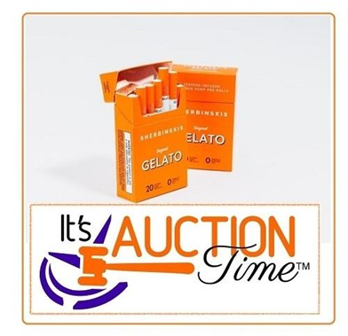 10 Packs Sherbinskis Gelato Hemp Cigs 20 Per Pack Other Items For