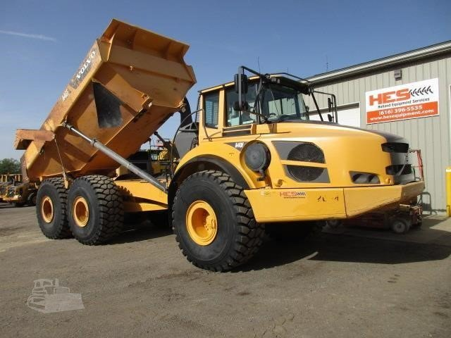 2012 Volvo A40f For Sale In Dallas Texas Machinerytrader Com