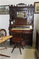 Story & Clark Pump Organ, Chicago, IL, Playable,