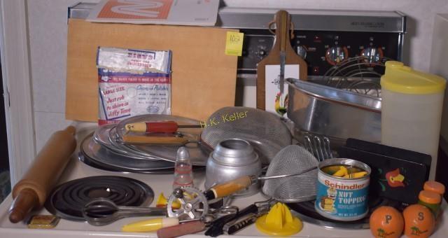 Vintage Kitchen Utensils And More H K Keller