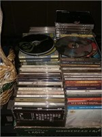 CD s And Basket If Empty Gift Boxes