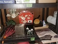 Trash Can, Kleenex Covers, Book, Asian Theme