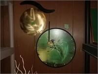 Angel Clock, Gong. Decor