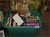 Tote Of VHS Tapes