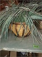 Wall Hanging Basket Planters With Artificial