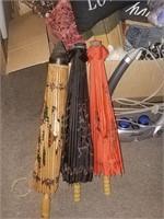 Oriental Style Umbrellas, Massager, Misc