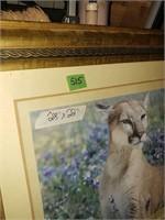 """Lion Print 28"""" x 22"""""""