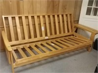 Wood Futon No Mattress