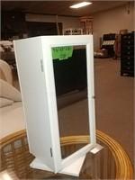 """Swivel Cabinet With Mirror Door 9 1/2"""" x 8"""" x 20"""""""