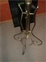 Brass Colored Coat Rack