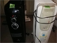 2 Electric Heaters