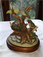 Porcelain hummingbird figurine by the Gallery