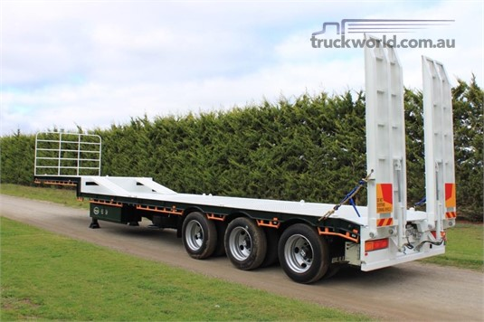 2019 Bullet Trailers Drop Deck Flat Top Trailer - Trailers for Sale