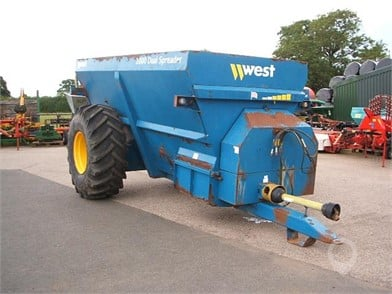 Used WEST Manure Spreaders for sale in the United Kingdom