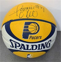 Jermaine O'Neal Signed Pacers Basketball