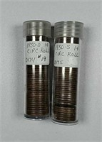 1930-D & 1930-S  Rolls of circulated Lincoln Cents