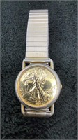 Liberty Coin Wristwatch-