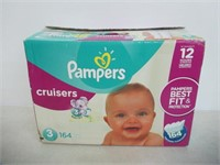 Pampers Diapers Size 3, Cruisers Disposable Baby