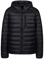 Wantdo Men's Small Packable Down Jacket Hooded