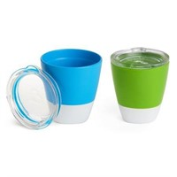 Munchkin Splash Toddler Cups with Training Lids, 4