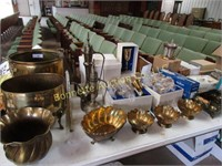 LOT OF MISC BRASS