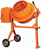 CENTRAL MACHINERY 3-1/2 CUBIC FT. CEMENT MIXER