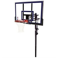 """SPALDING 50"""" IN GROUND BASKETBALL SYSTEM"""