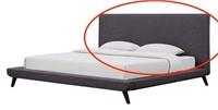 TOV NIXON LINEN BED  HEADBOARD ONLY QUEEN