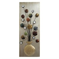 HOME SCONCE WALL DÉCOR POT WITH MIRROR