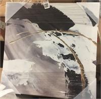 "PRINT ART WALL ON CANVAS 18""X18"""