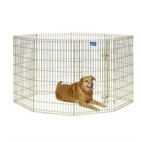 """MIDWEST EXERCISE PEN  FOR DOGS 24""""W X 42""""H"""