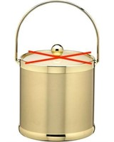 KRAFTWARE BRUSHED BRASS ICE BUCKET (NO COVER)