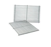 WEBER STAINLESS STEEL COOKING GRATES 19.5X12.9X0.6