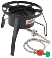 ROUND HIGH PRESSURE GAS PROPANE OUTDOOR COOKER